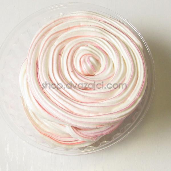 Безе Розовое Спиральное