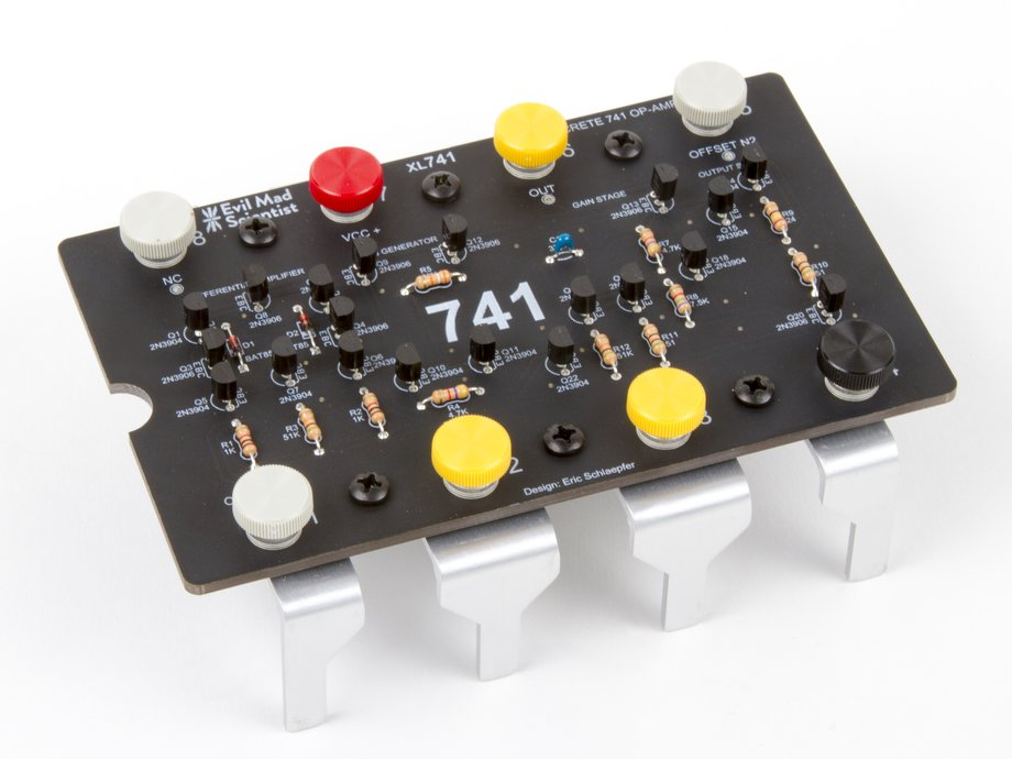The Xl741 Discrete Op Amp Kit