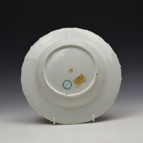 Derby Porcelain Fancy Bird Pattern Plate c1760 (2)