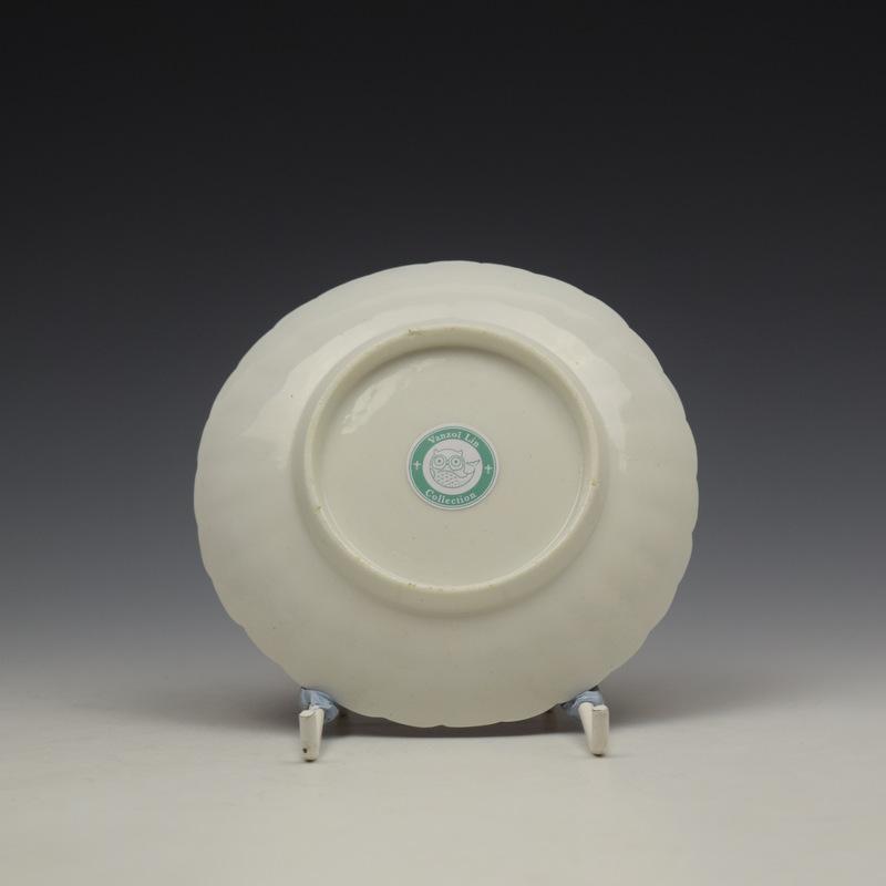 Derby Porcelain Scarlet Japan Mandarin Pattern Coffee Cup and Saucer c1758-80 (12)