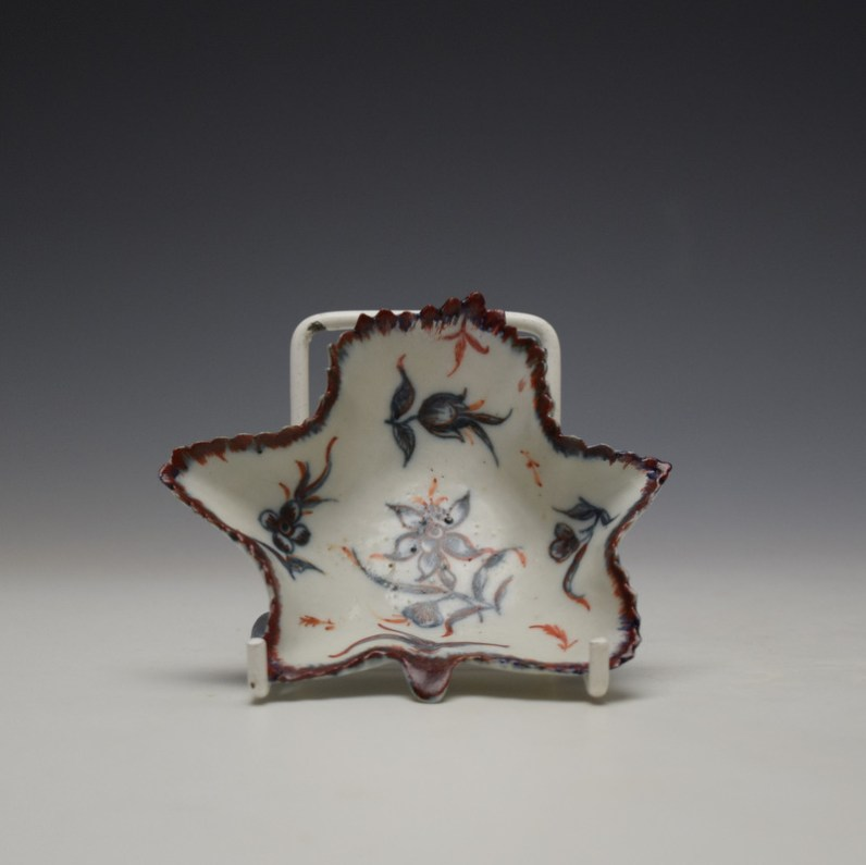 Plymouth Narcissus Pattern Pickle Leaf c1768-70 (1)