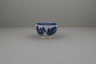 Caughley Porcelain Bandstand pattern Teabowl (5)