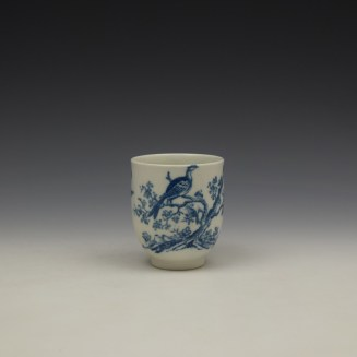 Caughley Birds In Branches Pattern Coffee Cup c1778-92 (2)