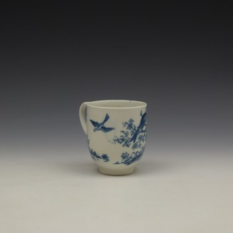 Caughley Birds In Branches Pattern Coffee Cup c1778-92 (3)