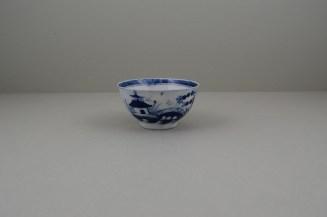 Caughley Porcelain Bridge and Windmil Pattern Teabowl, C1783-93 (6)