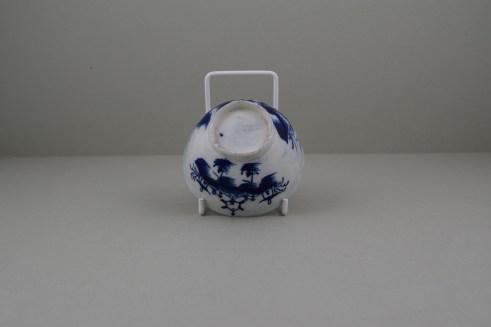 Caughley Porcelain Bridge and Windmil Pattern Teabowl, C1783-93 (8)