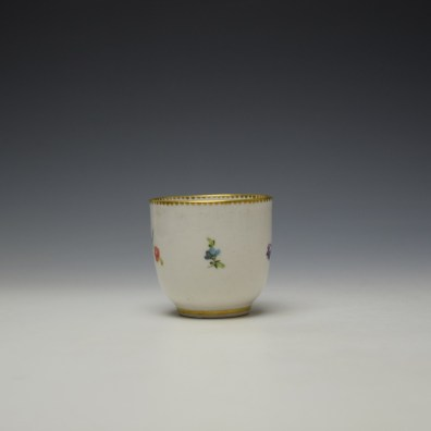 Chelsea Derby Floral Pattern Coffee Cup c1768-70 (2)
