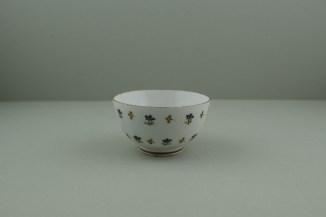 Lowestoft Porcelain Corn sprigs Pattern Teabowl, C1790-1800. 3