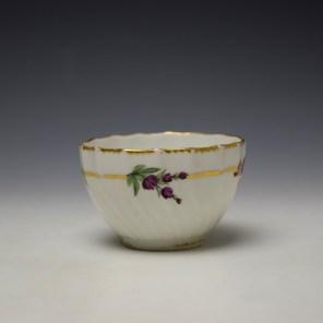 Derby Spirally Fluted Teabowl c1790 (5)