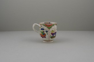 Worcester Porcelain Dragon Pattern Coffee Cup, C1775-85 (4)