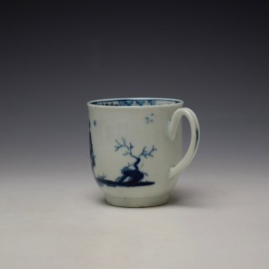 Worcester The Walk in a Garden Pattern Coffee Cup c1755-60 (6)
