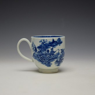 Worcester Fisherman Pattern Coffee Cup c1775-85 (3)