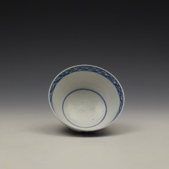 Bow Flowering Root Pattern Teabowl c1760 (6)