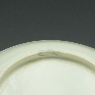 Worcester Fruit Spigs Pattern Saucer c1780 (3)