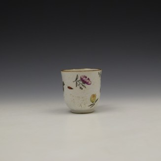 James Giles Decorated Floral Pattern Chinese Coffee Cup C1760 (2)