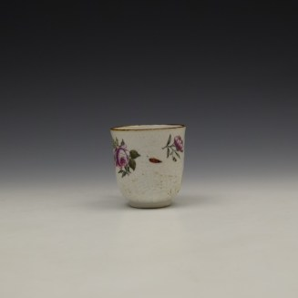 James Giles Decorated Floral Pattern Chinese Coffee Cup C1760 (3)
