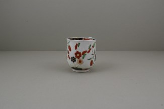 Worcester Porcelain Kempthorne Pattern Coffee Cup and Saucer, C1768-75 (3)