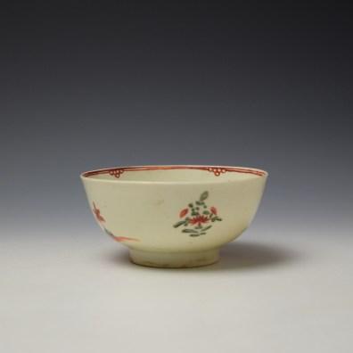 Liverpool John Pennington Mandarin Pattern Small Bowl c1775 (3)