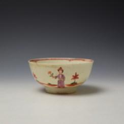 Liverpool John Pennington Mandarin Pattern Small Bowl c1775 (4)
