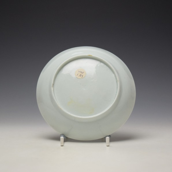 Liverpool Philip Christian Bird in Branches Pattern Teabowl and Saucer c1766-70 (11)