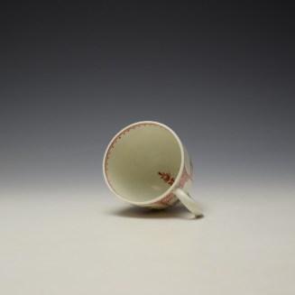 Lowestoft Mandarin Conversation Pattern Coffee Cup c1785-90 (6)