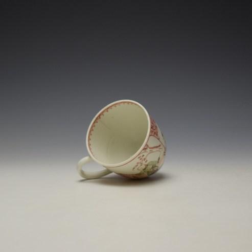 Lowestoft Mandarin Conversation Pattern Coffee Cup c1785-90 (7)