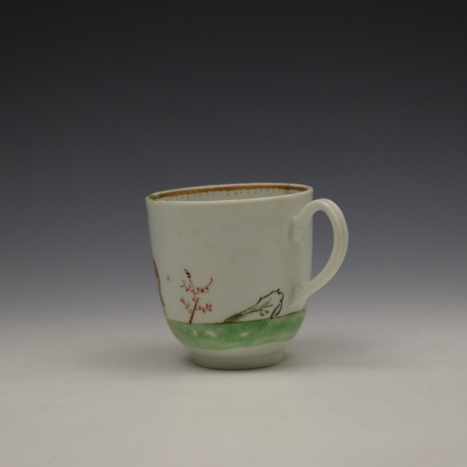 Worcester Mandarin Pattern Replacement Coffee Cup c1768-70 (6)