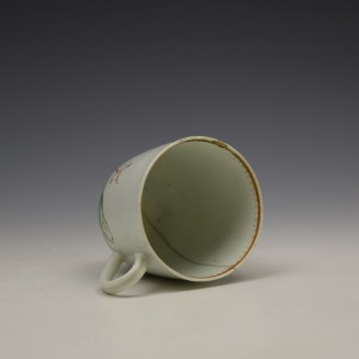 Worcester Mandarin Pattern Replacement Coffee Cup c1768-70 (8)