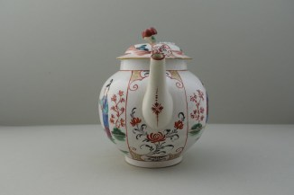 Worcester Mandarin Table for Tea Pattern Teapot and Cover. 3