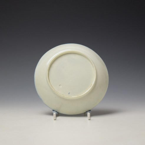 Worcester Mother and Child Pattern Saucer c1775-85 (2)