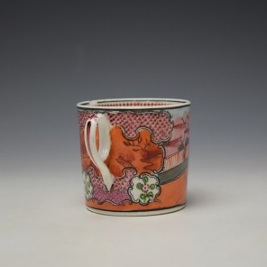 New Hall Boy in the Window Pattern Coffee Can c1800-10 (4)