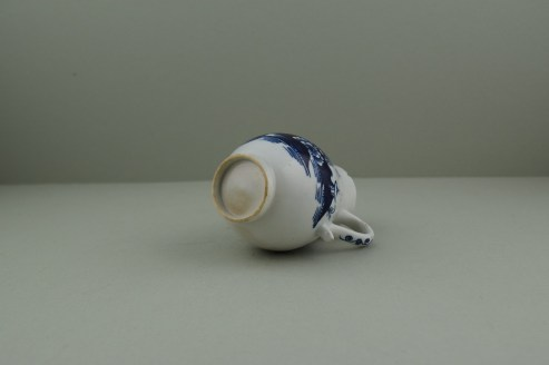 Lowestoft Porcelain Pagoda, Fence and Landscape Pattern Sparrow Beak Jug, C1775-90 (7)
