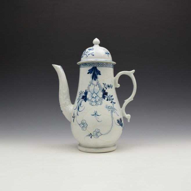 Liverpool Philip Christian Liverbird Pattern Coffee pot and Cover C17765-75 (1)