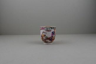 Liverpool Porcelain Philip Christian Mandarin Ocean View Pattern Coffee cup, C1760 (2)