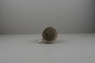 Liverpool Porcelain Philip Christian Mandarin Ocean View Pattern Coffee cup, C1760 (9)