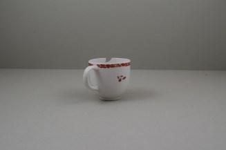 Bow Porcelain Quail Pattern Coffee Cup C1760 (5)