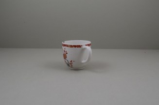 Bow Porcelain Quail Pattern Coffee Cup C1760 (6)