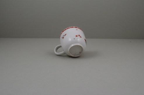 Bow Porcelain Quail Pattern Coffee Cup C1760 (7)