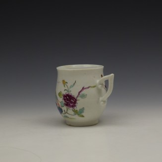 Derby Bird Peony and Rock Pattern Coffee Cup c1757-60 (6)