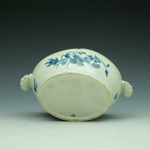 Worcester Wildflower Sprays Tureen and Cover c1775-80 (10)