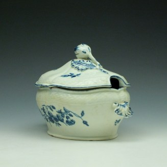 Worcester Wildflower Sprays Tureen and Cover c1775-80 (4)