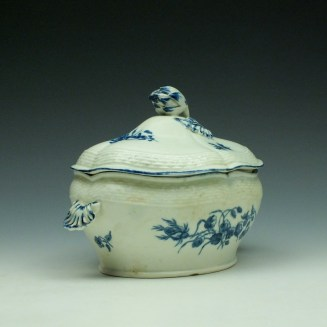 Worcester Wildflower Sprays Tureen and Cover c1775-80 (6)