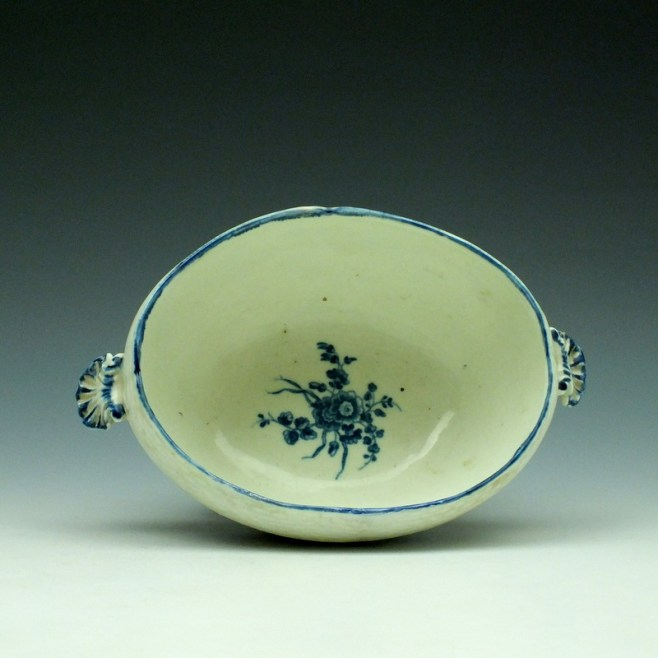 Worcester Wildflower Sprays Tureen and Cover c1775-80 (9)