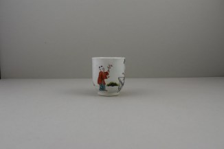 Liverpool Porcelain Richard Chaffers Mandarin Pattern Coffee Cup (2)