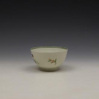 Lowestoft Rose and Floral Sprays Pattern Teabowl c1790-1800 (4)