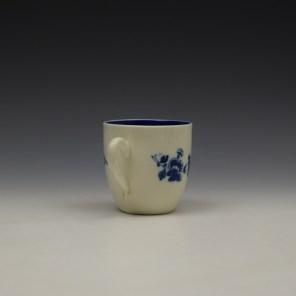 Caughley Salopian Sprigs Pattern Coffee Cupc1785-95 (4)