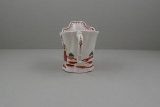 Liverpool Porcelain Seth Pennington Mandarin Pattern High Chelsea Ewer, C1790 (7)