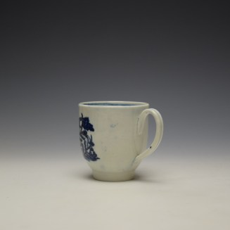 Liverpool Seth Pennington Porter and Ferry Boat Pattern Coffee Cup c1780-90 (5)