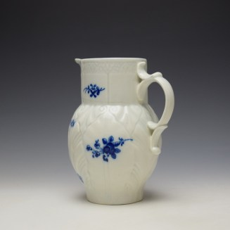 Caughley Salopian Sprigs Pattern Mask Spout Jug c1785-95 (6)