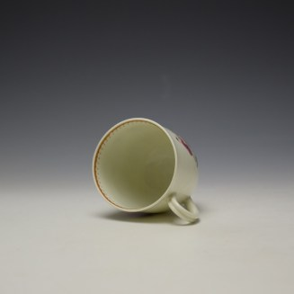 Worcester Tall Table Pattern Coffee Cup c1770 (6)